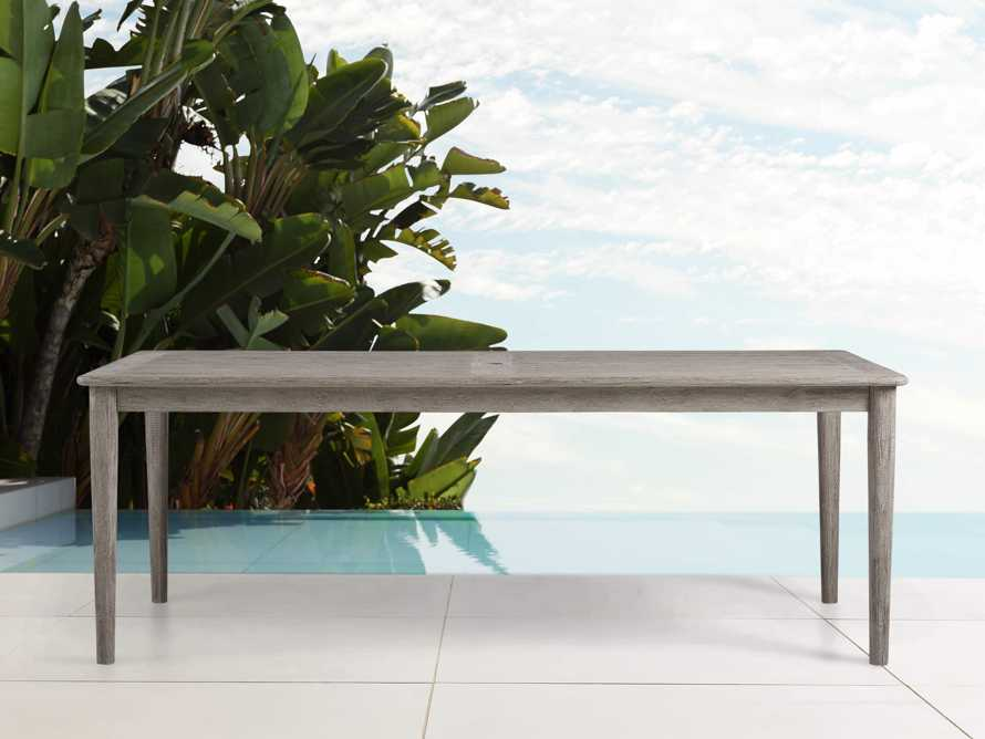 "Costa Outdoor 84"" Dining Table, slide 1 of 5"