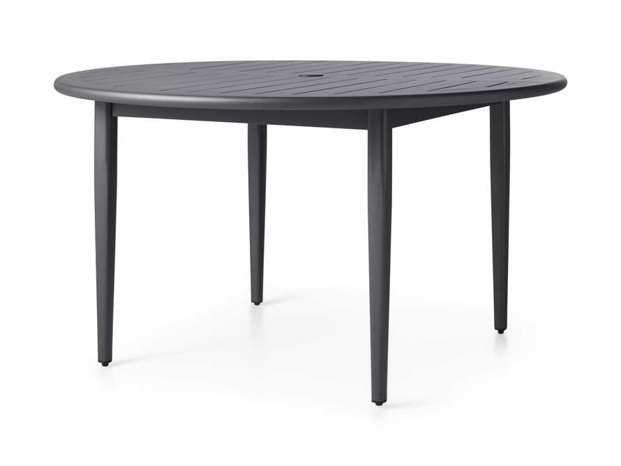 "Costa Outdoor 54"" Round Aluminum Dining Table, slide 2 of 4"