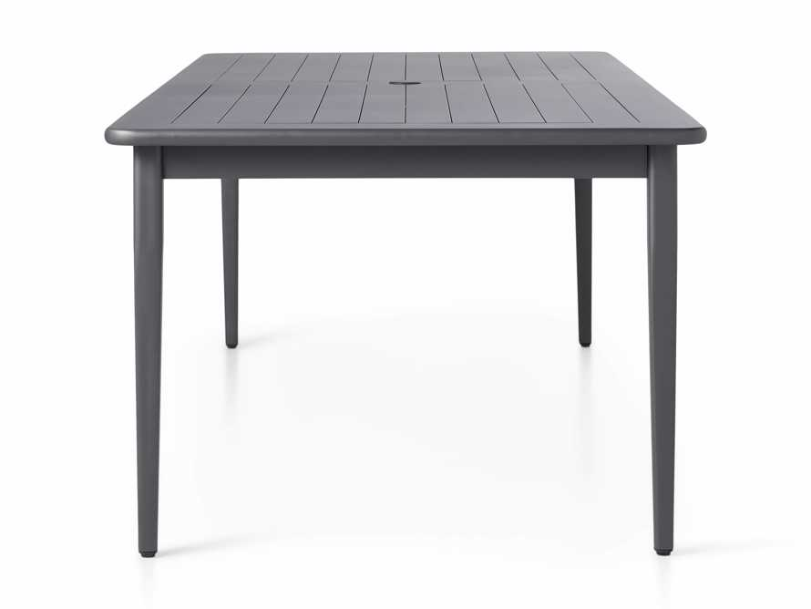 """Costa Outdoor 84"""" Aluminum Dining Table, slide 4 of 6"""
