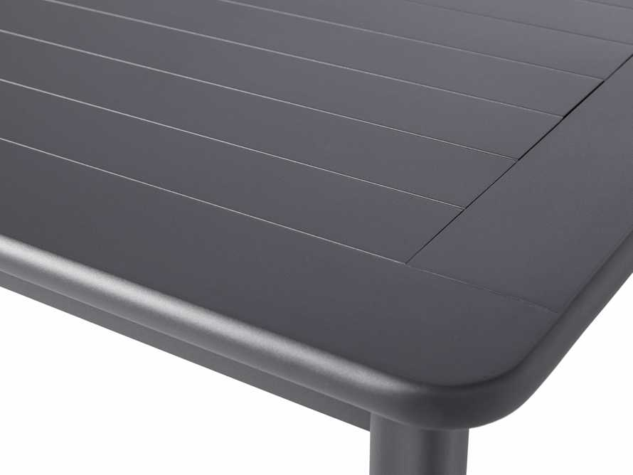"""Costa Outdoor 84"""" Aluminum Dining Table, slide 6 of 6"""