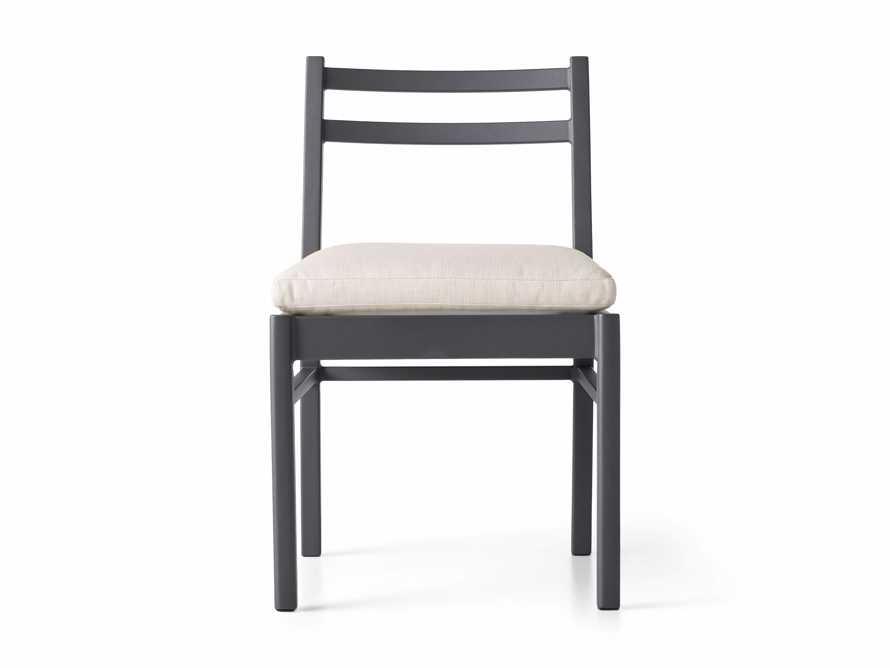 "Costa Outdoor 21.25"" Aluminum Dining Side Chair, slide 2 of 5"