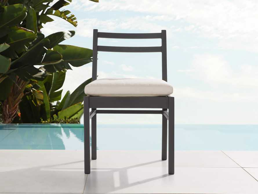 "Costa Outdoor 21.25"" Aluminum Dining Side Chair, slide 1 of 5"