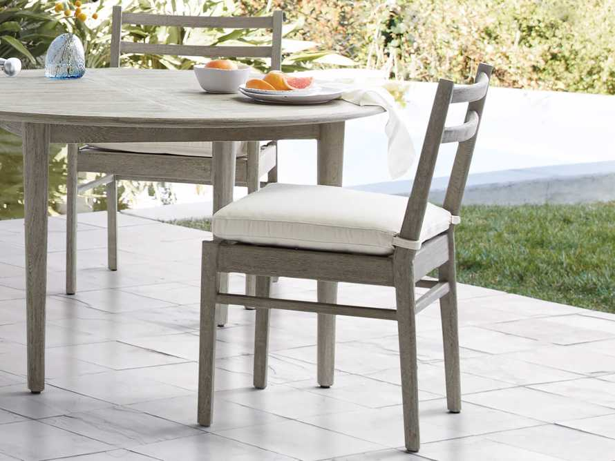 "Costa Outdoor 21"" Dining Side Chair, slide 2 of 4"