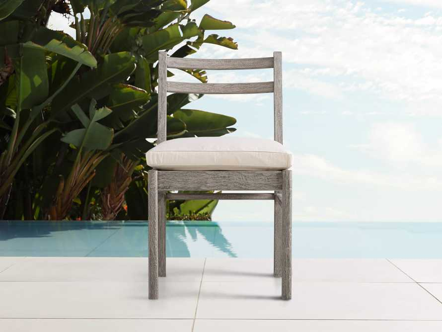 "Costa Outdoor 21"" Dining Side Chair, slide 1 of 4"