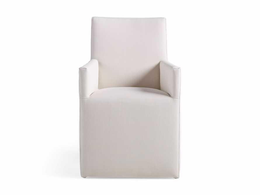 """Devon Outdoor 22"""" Dining Arm Chair, slide 2 of 4"""