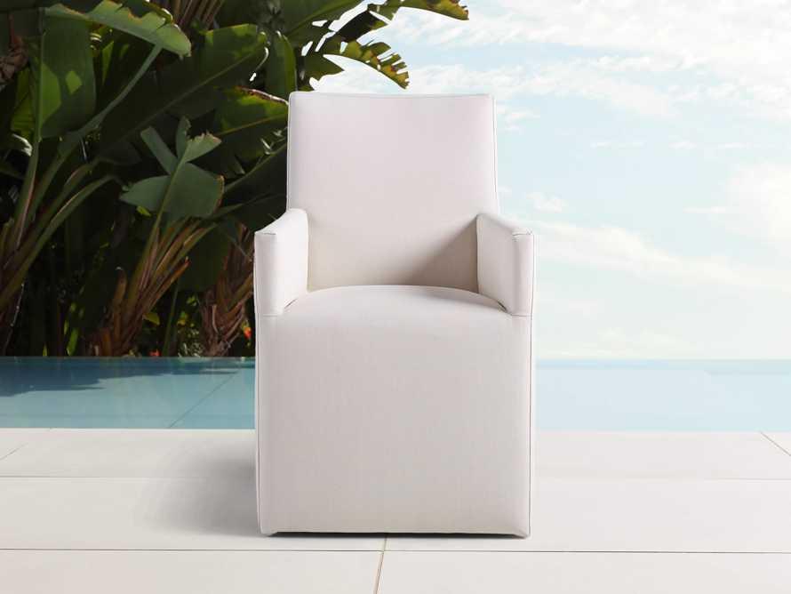 """Devon Outdoor 22"""" Dining Arm Chair, slide 1 of 4"""