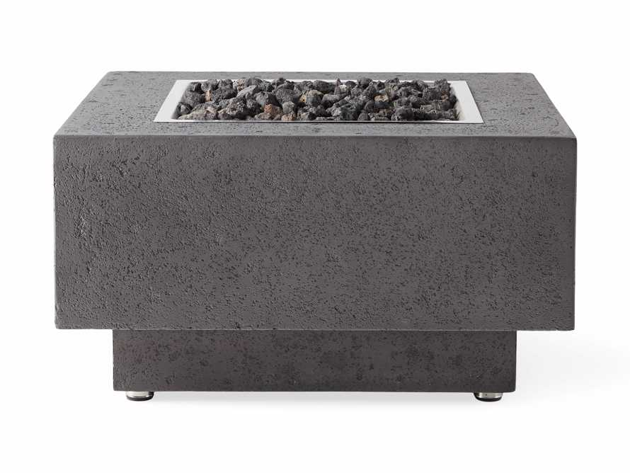 Natural Gas 29'' Square Fire Pit, slide 4 of 5