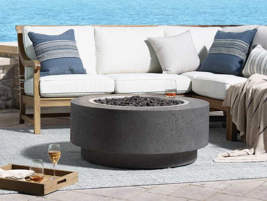 Propane 38'' Round Outdoor Fire Pit, slide 1 of 5