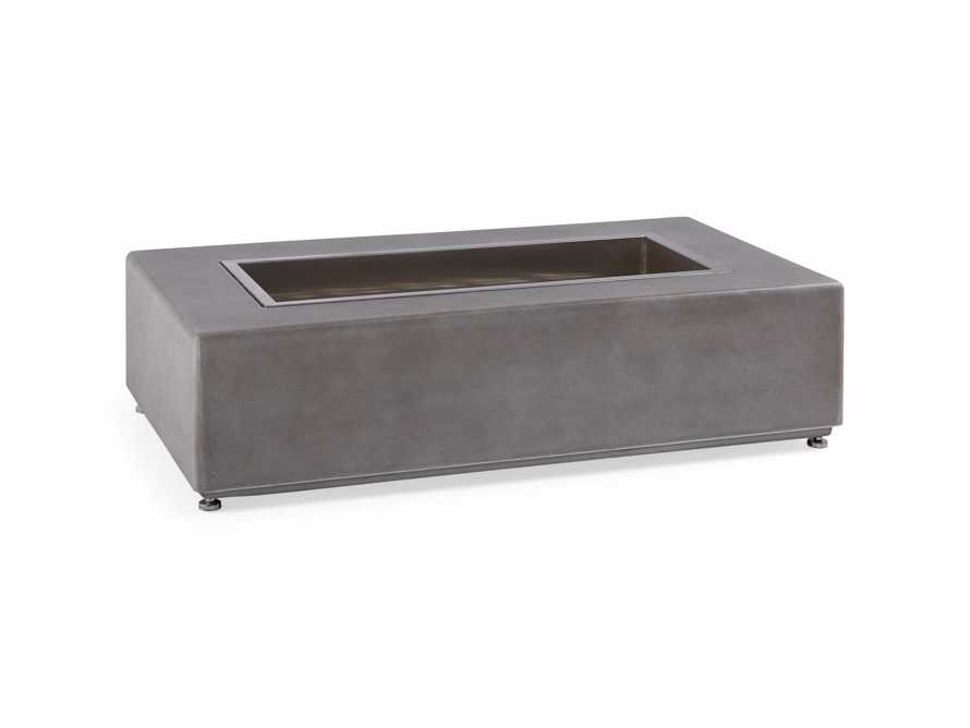"Outdoor 53"" Concrete Light Grey Fire Pit, slide 5 of 9"