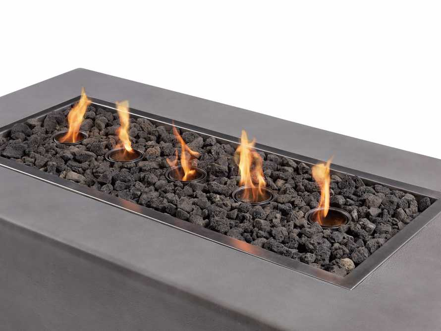 "Outdoor 53"" Concrete Light Grey Fire Pit, slide 9 of 9"