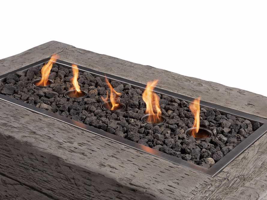 """FIRE PIT 53"""" FW/GEL LTGRY LOG, slide 8 of 10"""