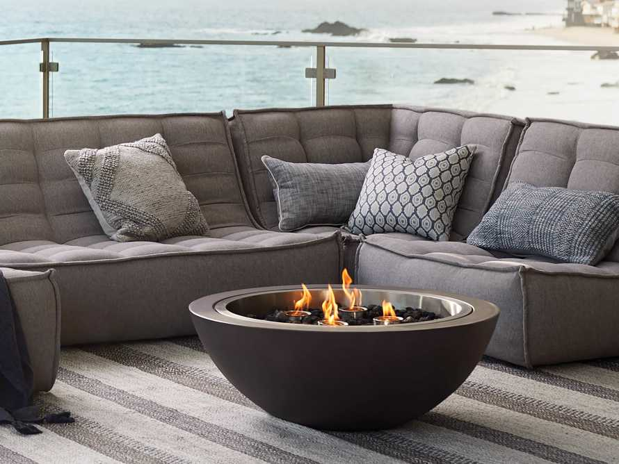 "Outdoor 36"" Round Concrete Fire Pit, slide 3 of 9"