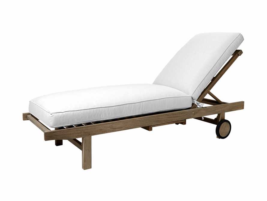"Hamptons Outdoor 85"" Chaise, slide 2 of 2"