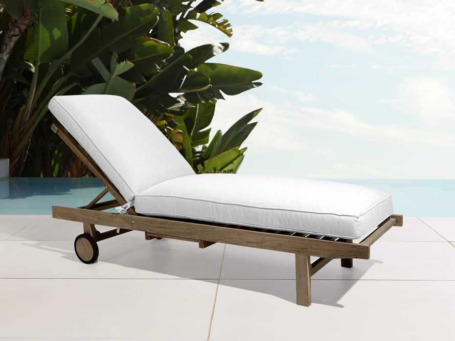 "Hamptons Outdoor 85"" Chaise, slide 1 of 2"