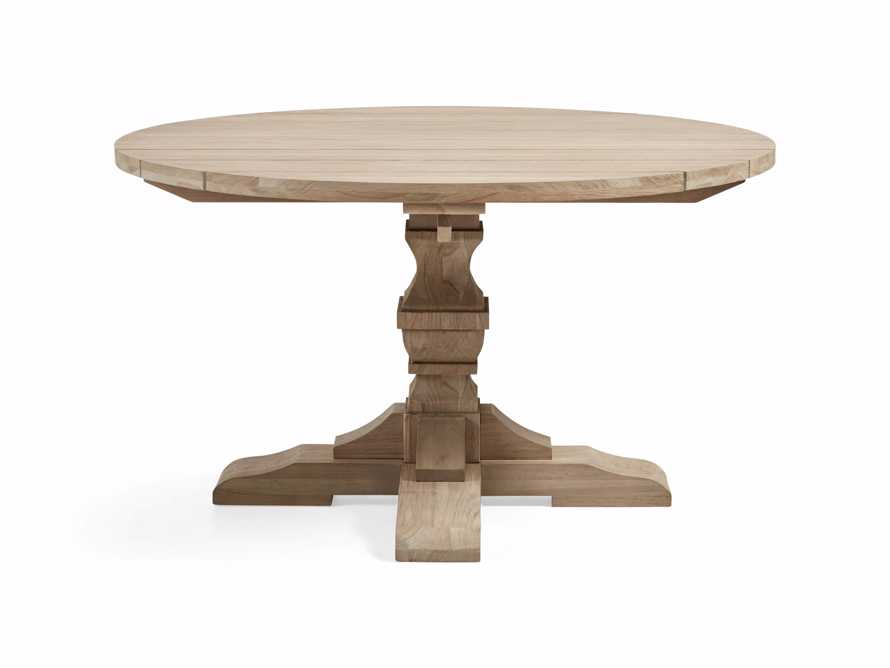 "Hamptons Outdoor 48"" Round Dining Table, slide 2 of 5"