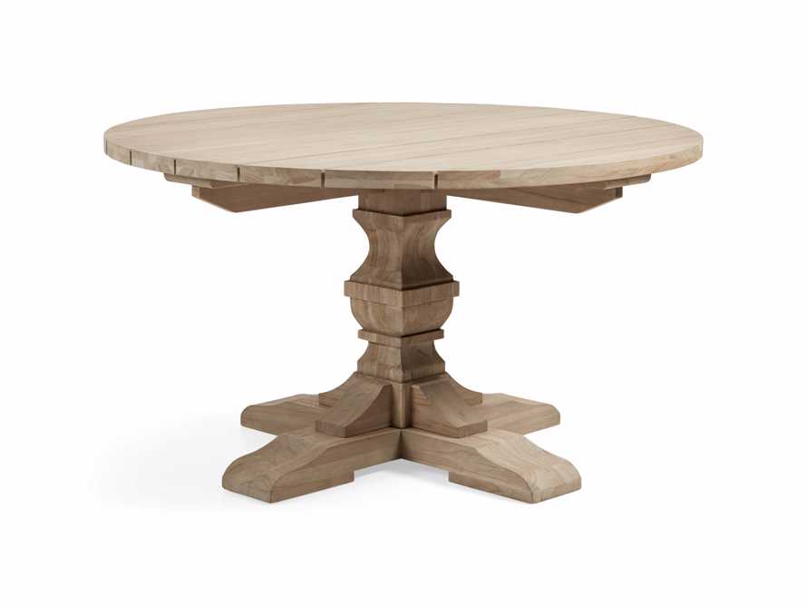 "Hamptons Outdoor 48"" Round Dining Table, slide 3 of 5"