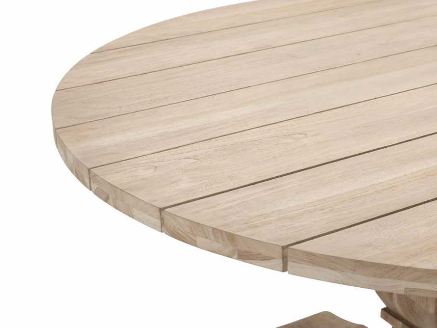 "Hamptons Outdoor 48"" Round Dining Table, slide 5 of 5"