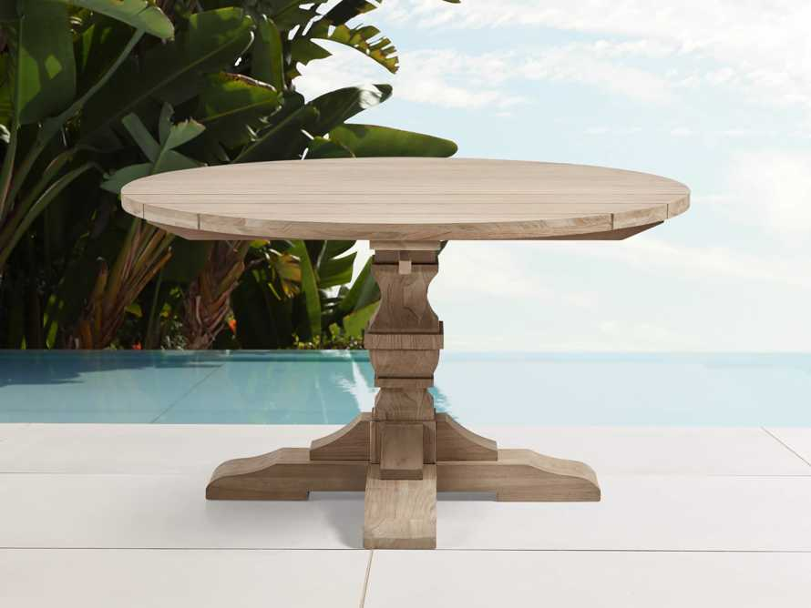 "Hamptons Outdoor 48"" Round Dining Table, slide 1 of 5"