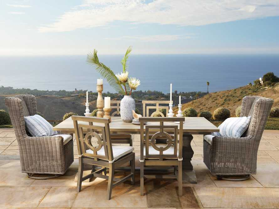 "Hamptons Outdoor 84"" Dining Table, slide 8 of 8"