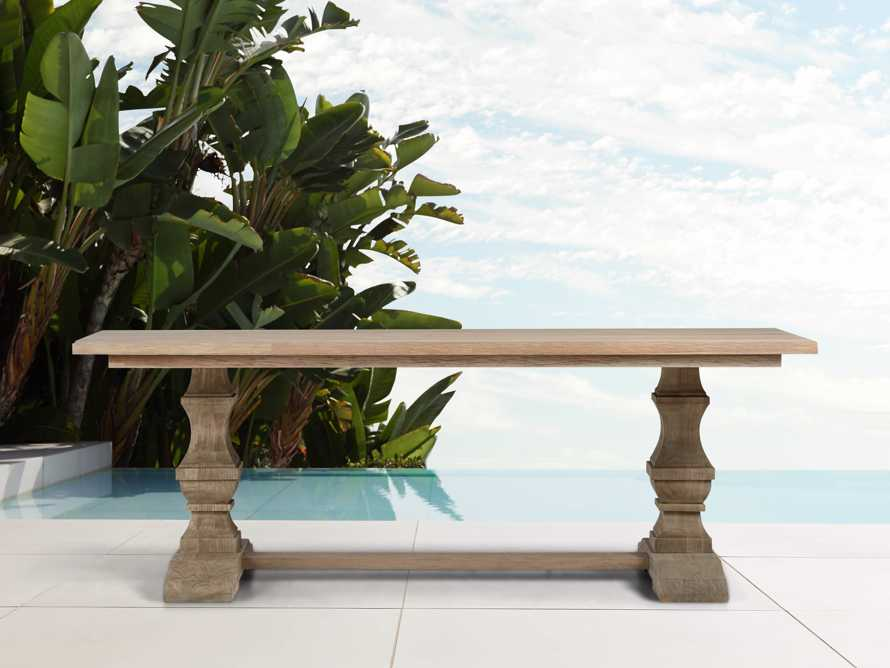 "Hamptons Outdoor 84"" Dining Table, slide 2 of 8"