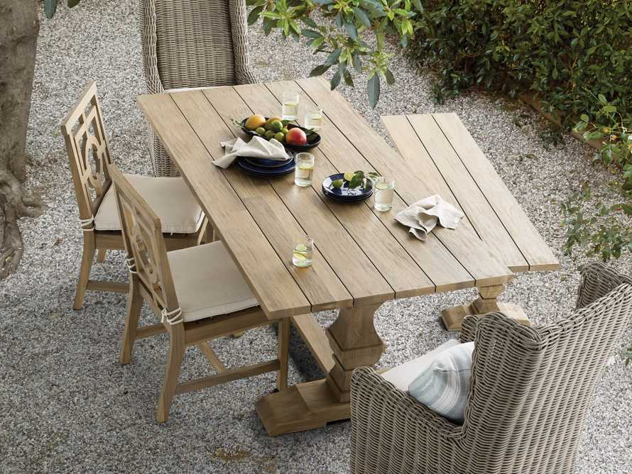 "Hamptons Outdoor 84"" Dining Table, slide 1 of 8"