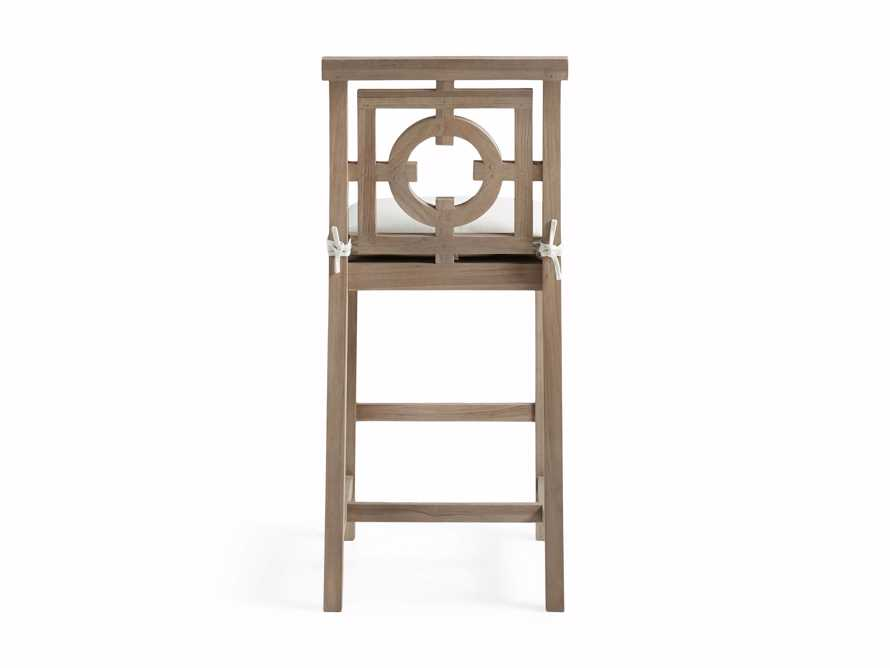 "Hamptons Outdoor 21"" Barstool in Weathered Fawn, slide 4 of 5"