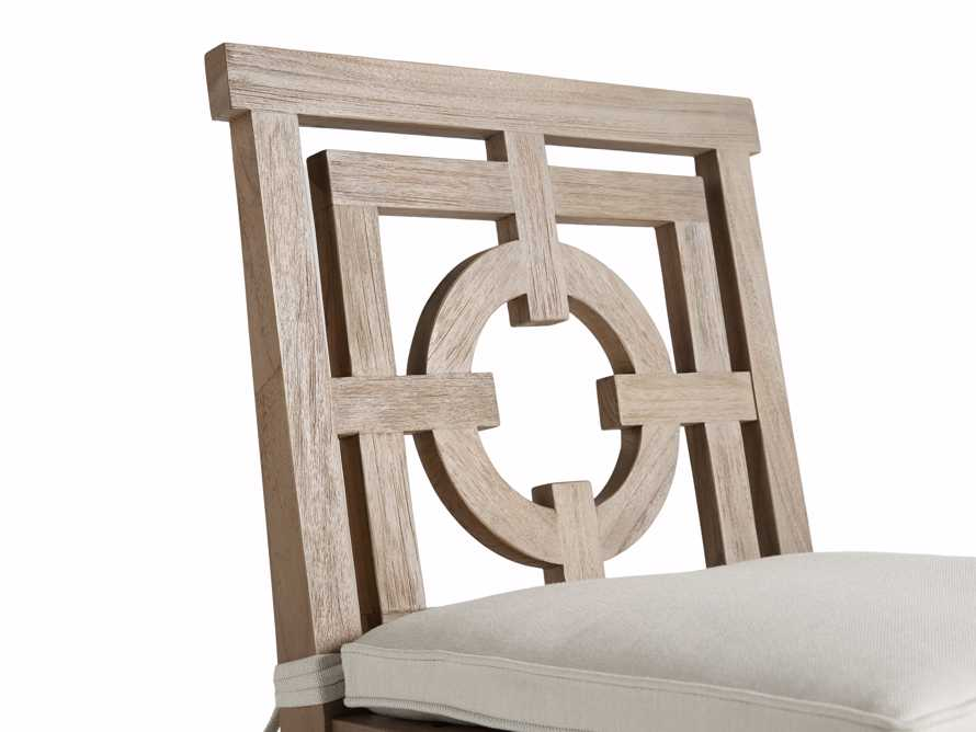 "Hamptons Outdoor 21"" Barstool in Weathered Fawn, slide 5 of 5"