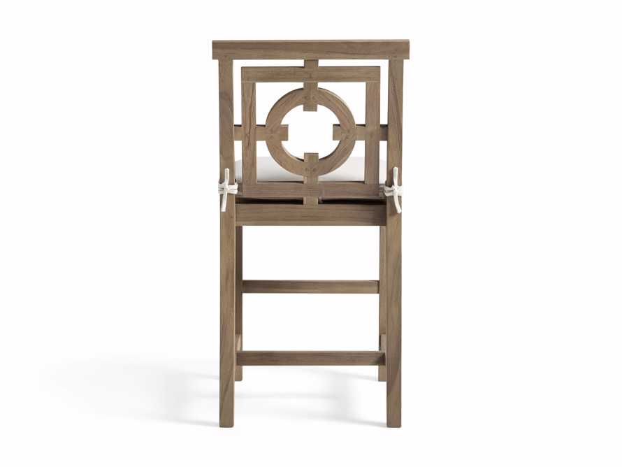 "Hamptons Outdoor 21"" Counter Stool in Weathered Fawn, slide 4 of 4"