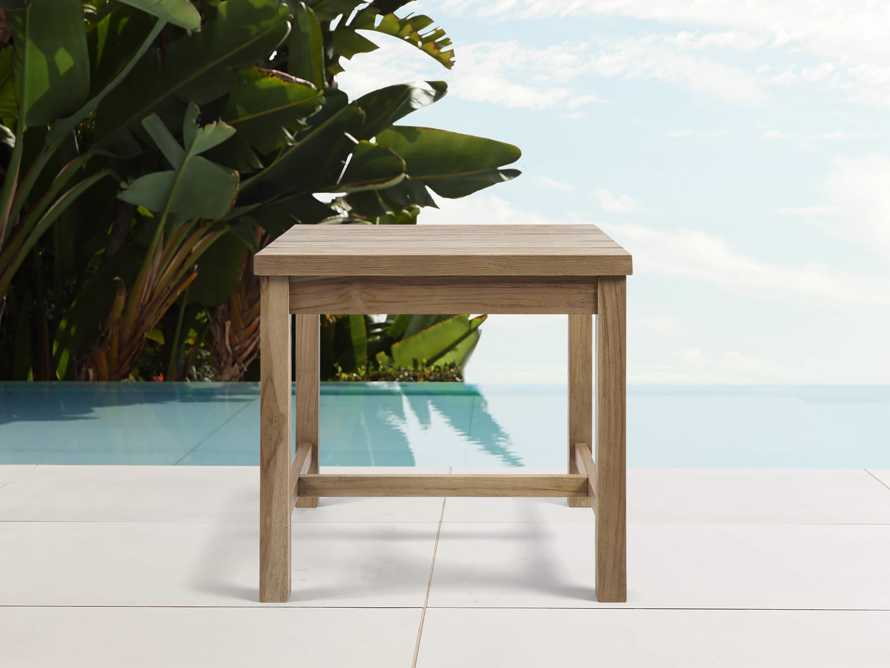Hamptons Outdoor End Table, slide 1 of 4