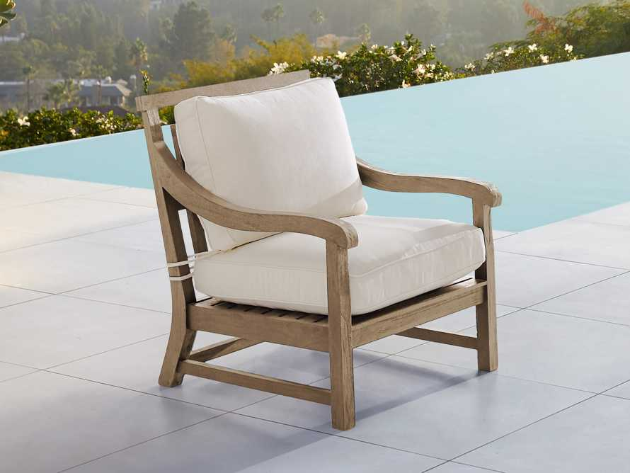"Hamptons Outdoor 32"" Lounge Chair Replacement Cushions"