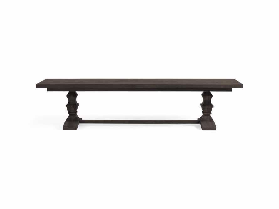 """Hamptons Outdoor 66"""" Dining Benches in Truffle Brown, slide 2 of 2"""