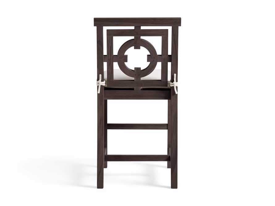 "Hamptons Outdoor 21"" Counter Stool in Truffle Brown, slide 4 of 5"