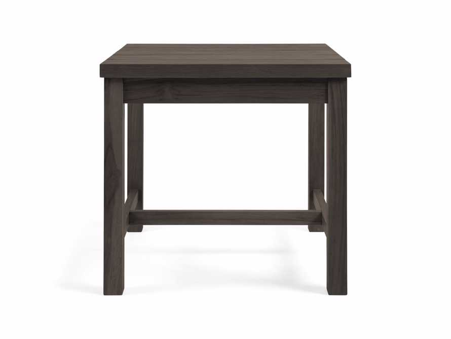 """Hamptons Outdoor 26"""" End Table in Truffle Brown, slide 2 of 2"""