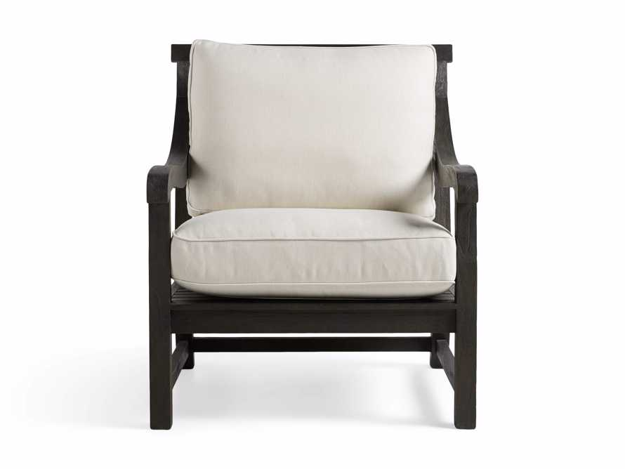 "Hampton Outdoor 32"" Lounge Chair in Truffle Brown, slide 2 of 5"