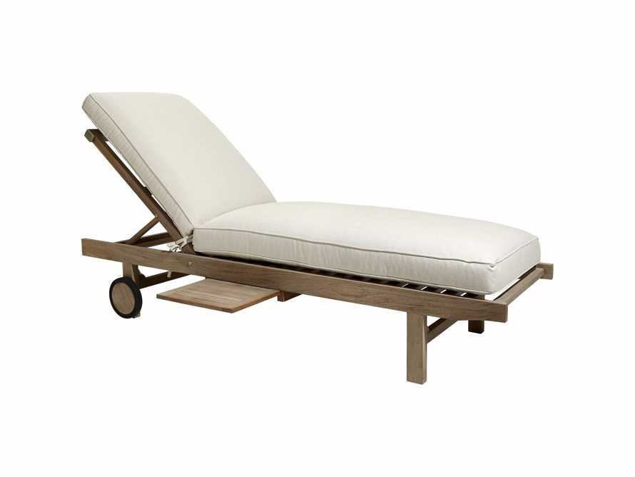 """Hamptons Outdoor 85"""" Chaise"""