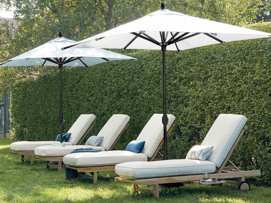 "Hamptons Outdoor 85"" Chaise, slide 2 of 9"