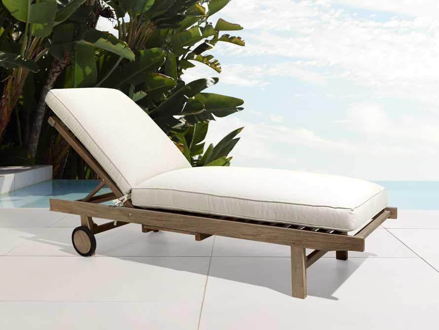 "Hamptons Outdoor 85"" Chaise, slide 1 of 9"