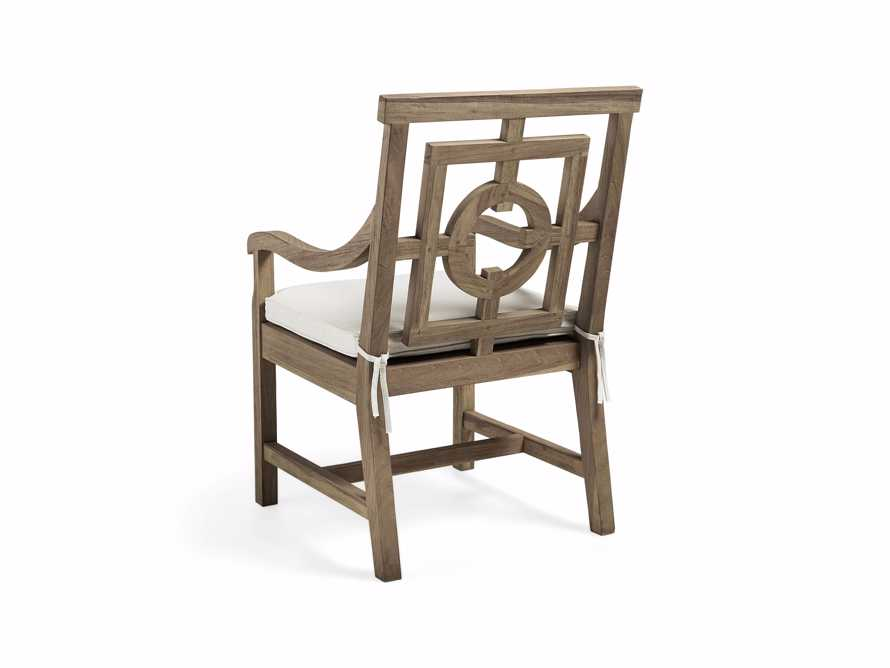 "Hamptons Outdoor 24"" Teak Dining Arm Chair"