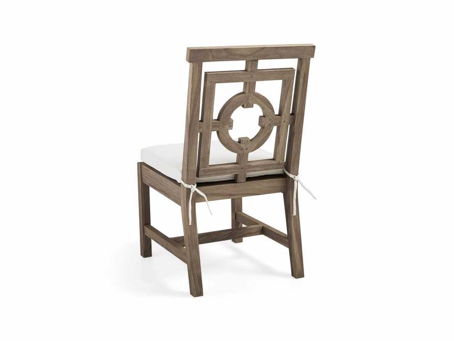 "Hamptons Outdoor 21"" Teak Dining Side Chair"