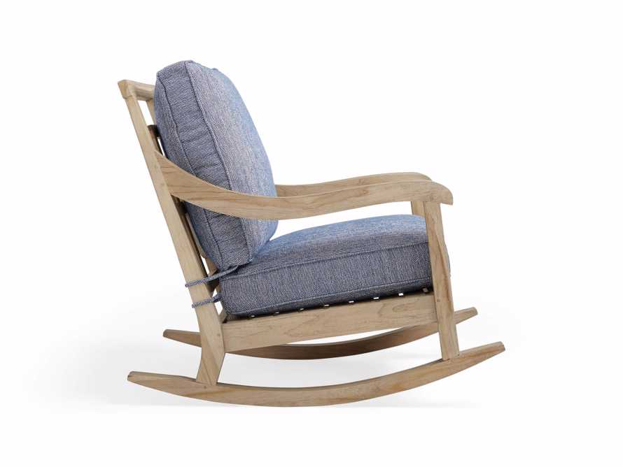"Hamptons Outdoor 30"" Rocking Chair in Indigo"