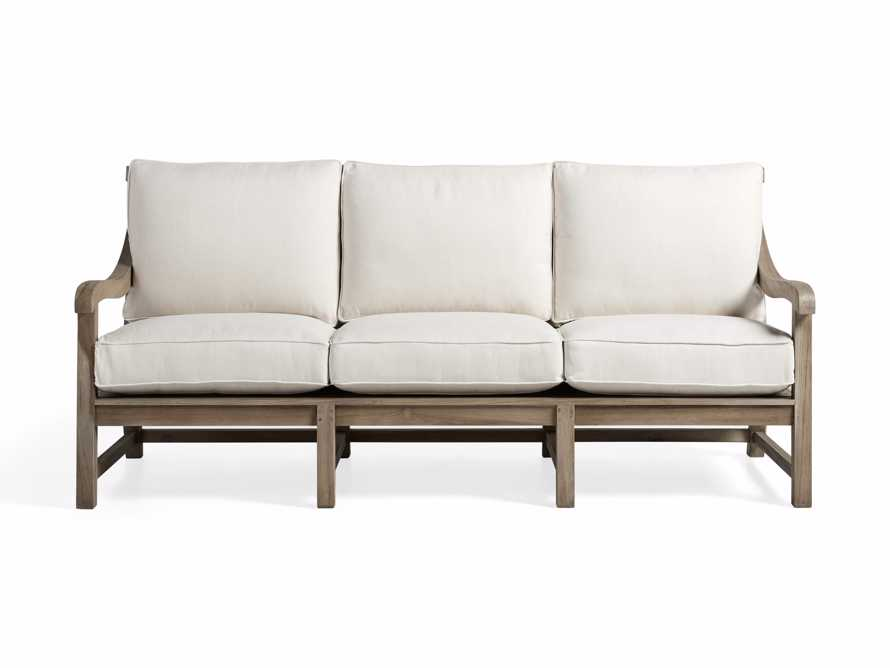 """Hamptons Outdoor 83"""" Sofa, slide 3 of 10"""