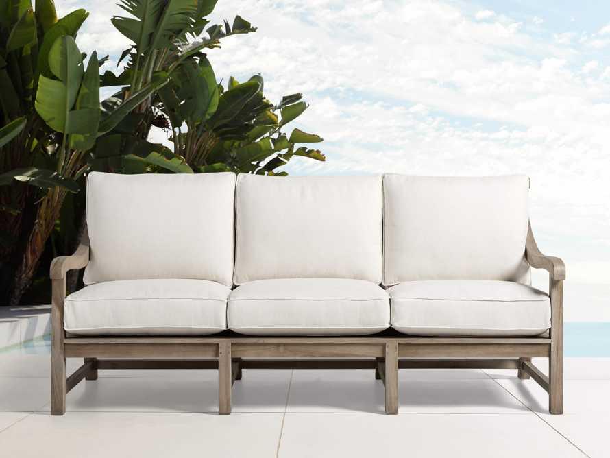 """Hamptons Outdoor 83"""" Sofa, slide 2 of 10"""