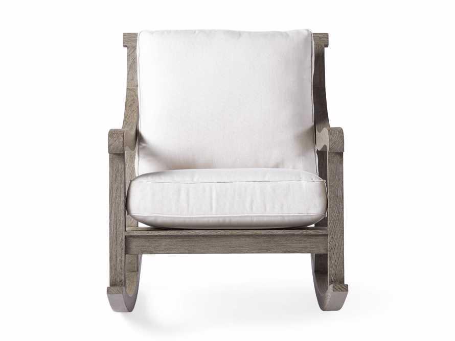"Hamptons Outdoor 30.5"" Rocking Chair in Driftwood Grey, slide 2 of 9"