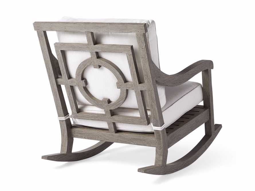 "Hamptons Outdoor 30.5"" Rocking Chair in Driftwood Grey, slide 5 of 9"