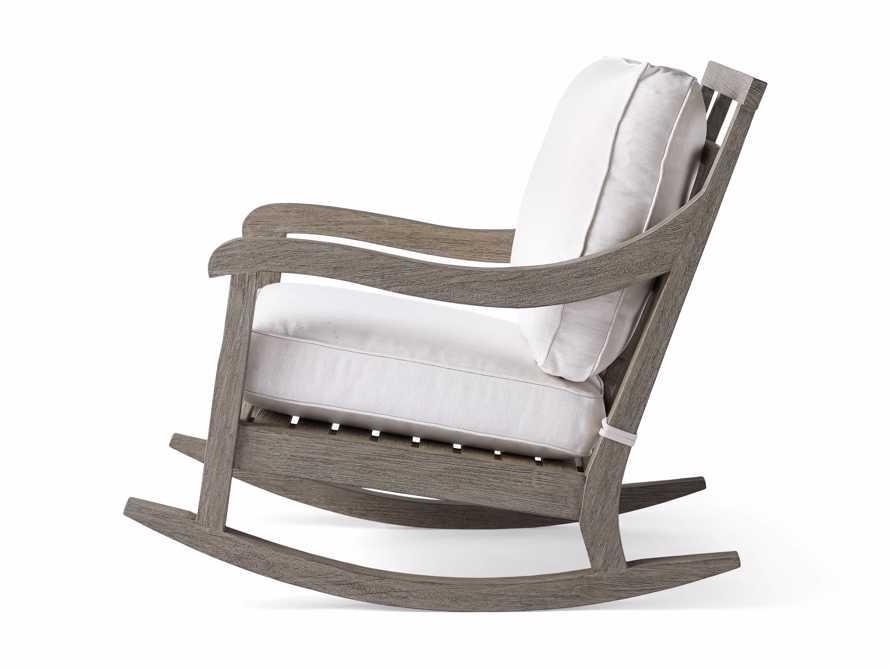 "Hamptons Outdoor 30.5"" Rocking Chair in Driftwood Grey, slide 4 of 9"