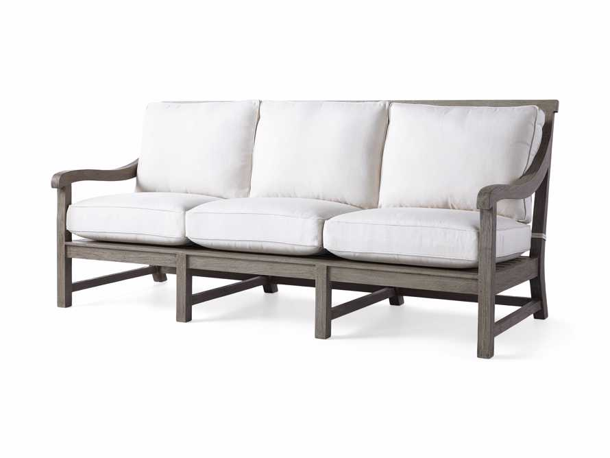 "Hamptons Outdoor 82.75"" Sofa in Driftwood Grey, slide 4 of 6"