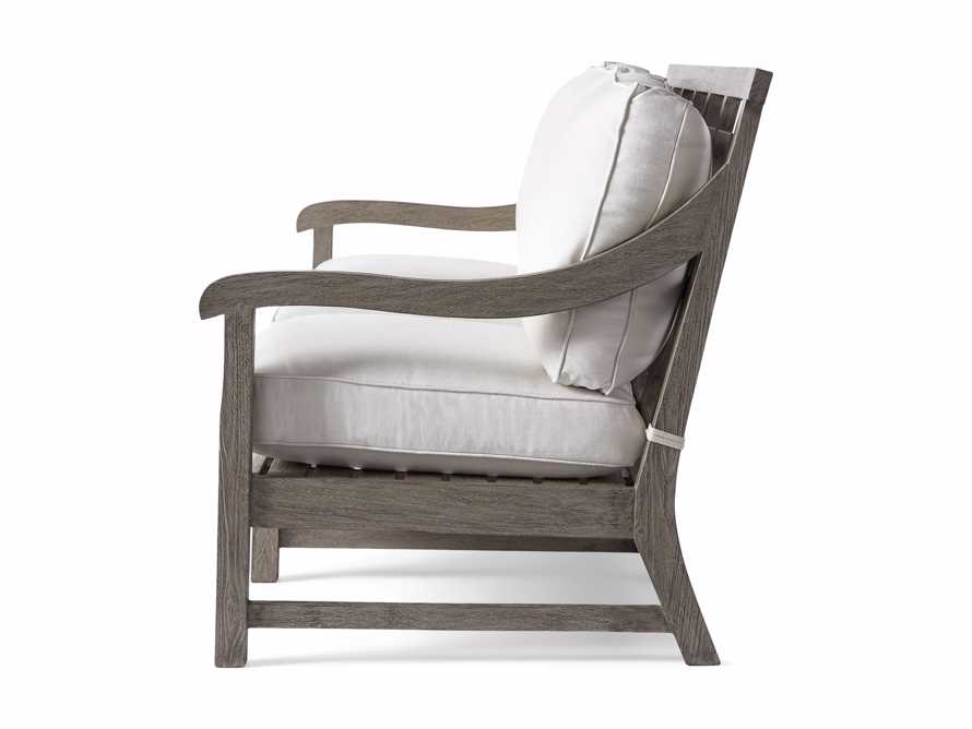 "Hamptons Outdoor 82.75"" Sofa in Driftwood Grey, slide 5 of 6"