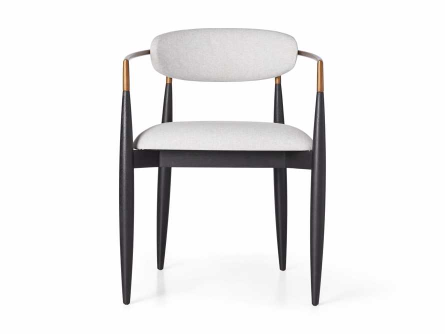 """Jagger Outdoor 22"""" Dining Arm Chair, slide 3 of 8"""