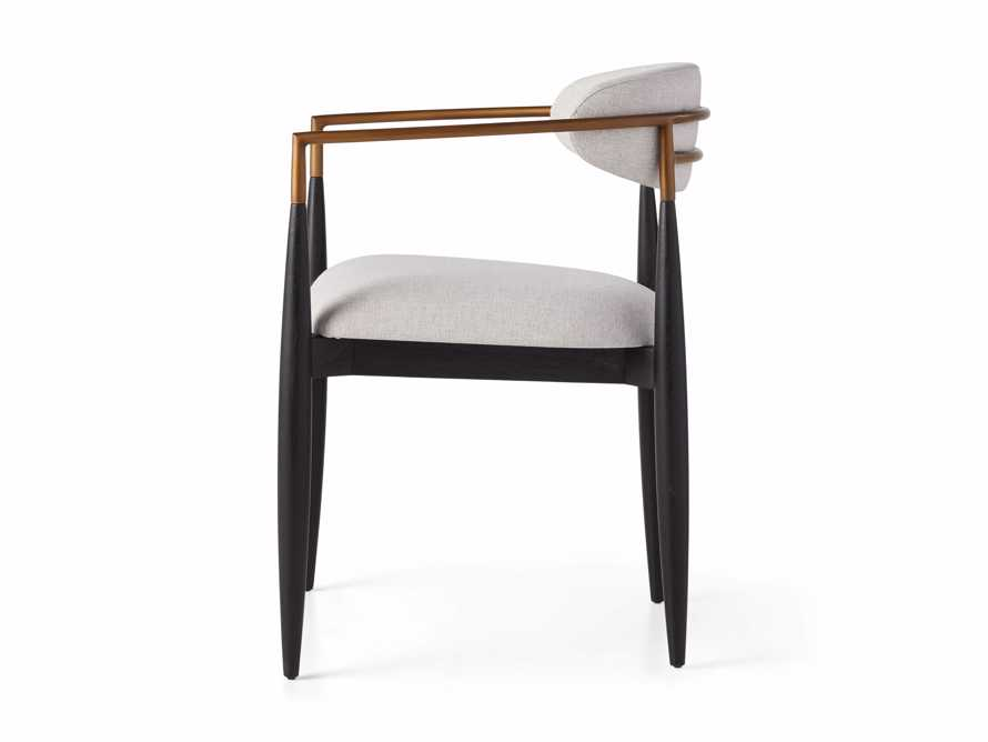 """Jagger Outdoor 22"""" Dining Arm Chair, slide 5 of 8"""