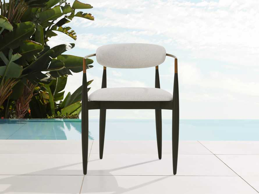 """Jagger Outdoor 22"""" Dining Arm Chair, slide 1 of 8"""